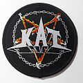 KAT - Metal & Hell - Round Woven Patch