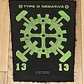 Type O Negative - Gear Back Patch