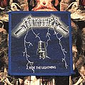 Metallica-Ride The Lightning Patch (Blue border)