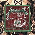 Metallica-Creeping Death Patch (Green & Green border)