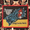 Accept-Balls To The Wall Patch (Red border)