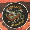 Thin Lizzy - Chinatown patch (white border)