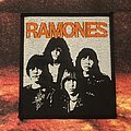 Ramones - Johnny, Joey, Dee Dee, Marky patch