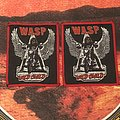 W.A.S.P. - Wild Child patches (red border)