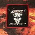 Venom - Black Metal patch (red border)