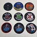 1980s Band Patches Unused
