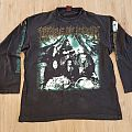 1996 Cradle Of Filth Funeral In Carpathia Longsleeve Shirt XL