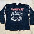 1991 Gorefest Tangled In Gore Longsleeve Shirt XL