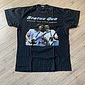 1991 Status Quo Rock Till You Drop Tour Shirt L