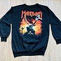 Manowar - TShirt or Longsleeve - 1992 Manowar Triumph Of Steel World Tour Sweater L