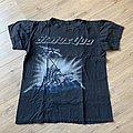 1986 Status Quo Plan Of Attack Tour Shirt M