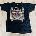 1990 Slayer European Campaign Tour Shirt XL