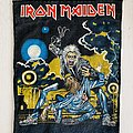 1990 Iron Maiden Hooks In You Backpatch
