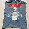 Kreator - TShirt or Longsleeve - 1980s Kreator Terrible Certainty/Out Of The Dark Muscle Shirt L