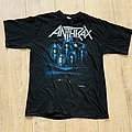 1990 Anthrax Persistence Of Time Shirt L