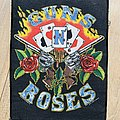 Guns n Roses Cards Backpatch