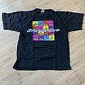 1991 Status Quo Rock Till You Drop UK Tour Shirt L