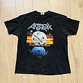 1990 Anthrax Persistence Of Time Tour Shirt XL