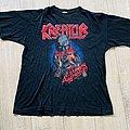 1989 Kreator Extreme Aggression European tour shirt XL