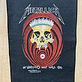 Metallica - Patch - Metallica In Vertigo You Will Be Backpatch
