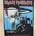 Iron Maiden - Patch - Iron Maiden 2 Minutes To Midnight Backpatch