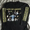 Life Of Agony - TShirt or Longsleeve - 1995 Life Of Agony Lost At 22 Ugly Tour Longsleeve Shirt XL