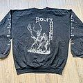 1991 Bolt Thrower European War Mass Tour Sweater L TShirt or Longsleeve