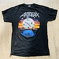 1990 Anthrax Persistence Of Time Tour Shirt L