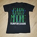 Gary Moore Run For Cover Live In 85 Tour Shirt