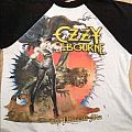 1986 Ozzy Osbourne The Ultimate Tour Shirt