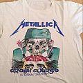 1987 Metallica Crash Course Tour Shirt