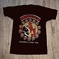 1993 Guns n Roses Use Your Illusion European Tour Shirt L