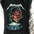 Metallica tourshirt