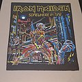 Iron Maiden - Patch - Somewhere in time backpatch