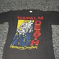 Original Napalm death harmony corruption shirt