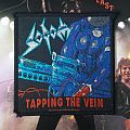 Sodom - Patch - Sodom Tapping the Vein Patch (Original; 1993 EMP Merchandising)
