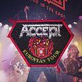 Accept European Tour Patch (Vintage)
