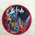 Sodom Code Red Patch (Circular-Red Border)