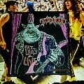 Tankard - Patch - Tankard Ugly, Fat&Live Patch Original (1990 EMP Merchandising)