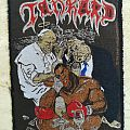 Tankard Meaning of Life Patch (Original; 1990 EMP Merchandising)