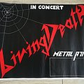 Living Death - Other Collectable - Living Death-Metal Attack Tour Poster 1985