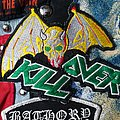 Vintage Overkill Bat Tour patch