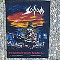 Sodom Persecution Mania Backpatch (Original)