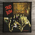 Vintage Skid Row Slave To The Grind Woven Patch
