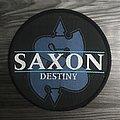 Vintage Saxon Destiny Woven Patch