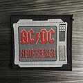 Vintage AC/DC Heatseeker Woven Patch
