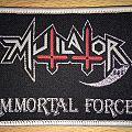 Mutilator Immortal Force Woven Patch
