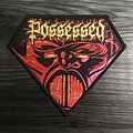 Possessed Beyond The Gates Woven Patch (Black Border)