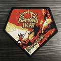 Diamond Head Borrowed Time Woven Patch (Black Border)