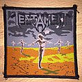 Vintage Testament Practice What You Preach Woven Patch